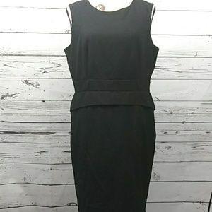 Calvin Klein sz 14 petite little black dress